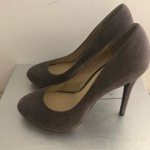 B by Brian Atwood suede heel! Size 9